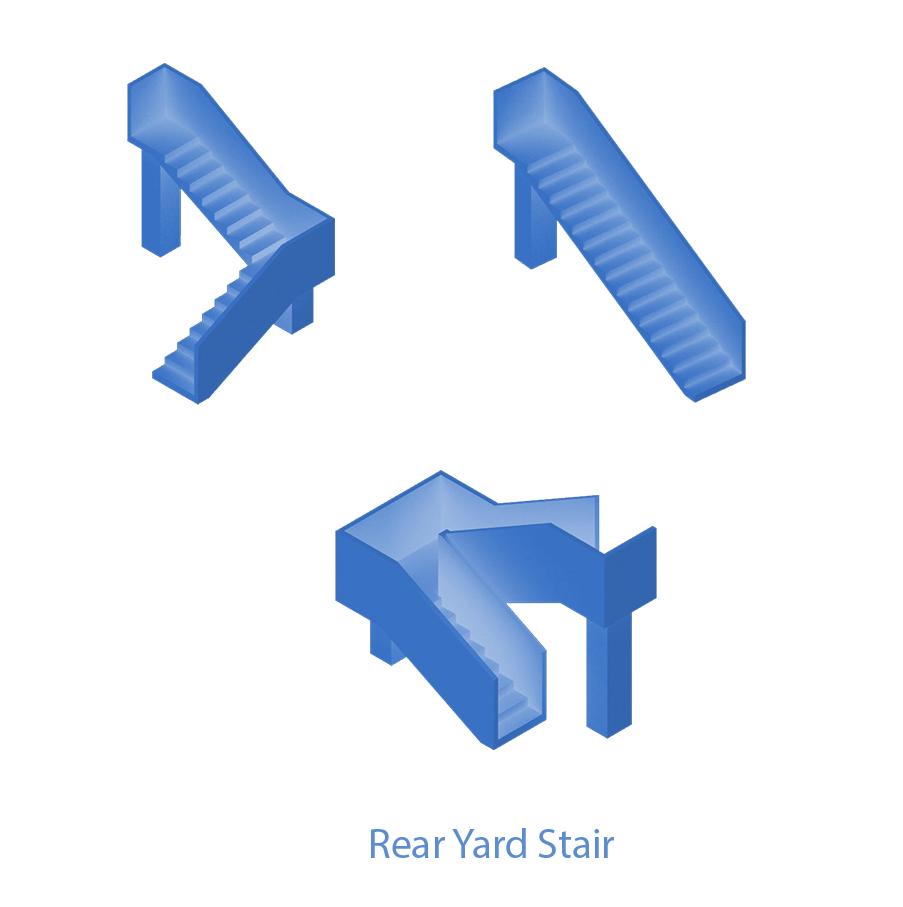 Elements - Rear Yard Stair